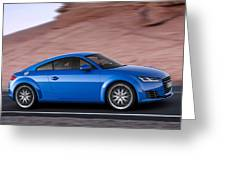 Audi Tt Greeting Card