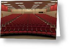 Auditorium Greeting Card