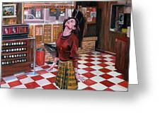 Audrey Horne Twin Peaks Resident Greeting Card