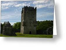 Aughnanure Castle Greeting Card