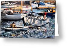 August Afternoon Rocky Neck Greeting Card