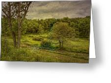 August Evening Greeting Card