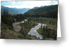 August In Colorado Greeting Card