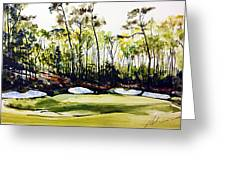Augusta 2 Greeting Card
