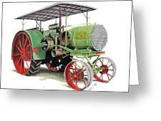 Aultman And Taylor Tractor Greeting Card