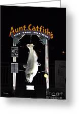Aunt Catfish Greeting Card