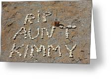 Aunt Kimmy Greeting Card