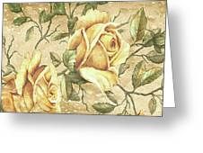 Aunt Marie's Roses Greeting Card