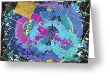 Auric Squared Greeting Card