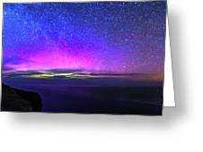 Aurora At Ceide Fields Greeting Card