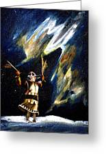 Aurora Dancer Greeting Card