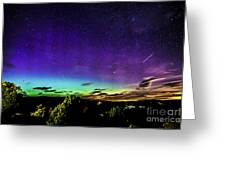 Aurora In Yorkshire  Greeting Card