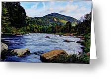 Ausable And Whiteface Greeting Card