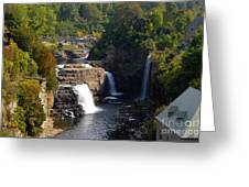 Ausable Falls Greeting Card