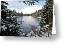Ausable River 4820 Greeting Card
