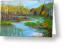Ausable River Greeting Card