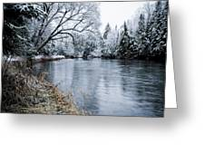 Ausable Winter Greeting Card