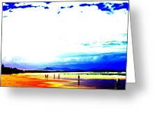 Aussie Beach Greeting Card
