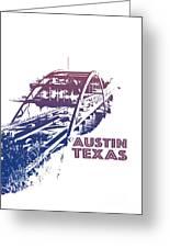 Austin 360 Bridge, Texas Greeting Card