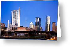 Austin Downtown Greeting Card