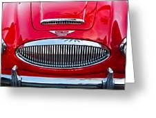Austin-healey 3000mk II Greeting Card