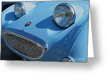 Austin Healy Sprite Greeting Card