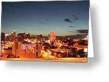 Austin Night Greeting Card