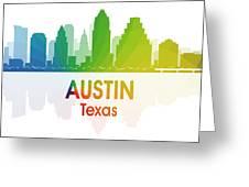 Austin Tx Greeting Card