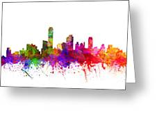 Australia Australia Cityscape 02 Greeting Card