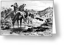 Australia: Cowboys, 1864 Greeting Card