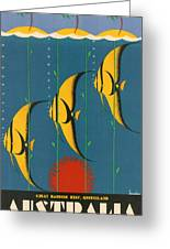 Australia Greeting Card