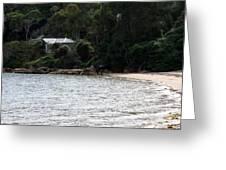 Australia - Hideout On Palm Beach Greeting Card