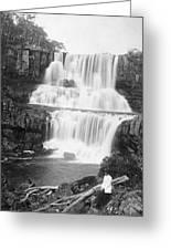 Australia: Waterfall Greeting Card