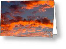 Australian Sunset Greeting Card