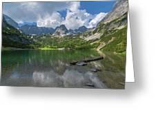 Austria Seebensee Greeting Card