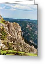 Austrian Alps Greeting Card