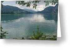 Austrian Lake Greeting Card