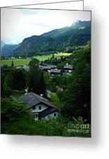 Austrian Landscape Greeting Card