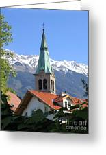 Austrian Valley Greeting Card