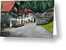 Austrian Village Greeting Card