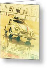 Automotive Memorabilia Greeting Card