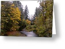 Autum In Oregon Greeting Card