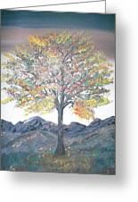 Autum Tree Greeting Card