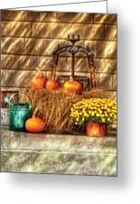 Autumn - Pumpkin - A Still Life With Pumpkins Greeting Card