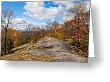 Autumn Above Eagle Bay Ny Greeting Card