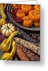 Autumn Abundance Greeting Card by Garry Gay
