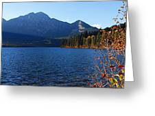 Autumn Afternoon On Pyramid Lake Greeting Card