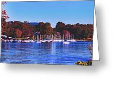 Autumn Along Lake Candlewood - Connecticut Greeting Card