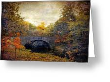 Autumn Ambiance Greeting Card