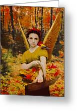 Autumn Angels Greeting Card